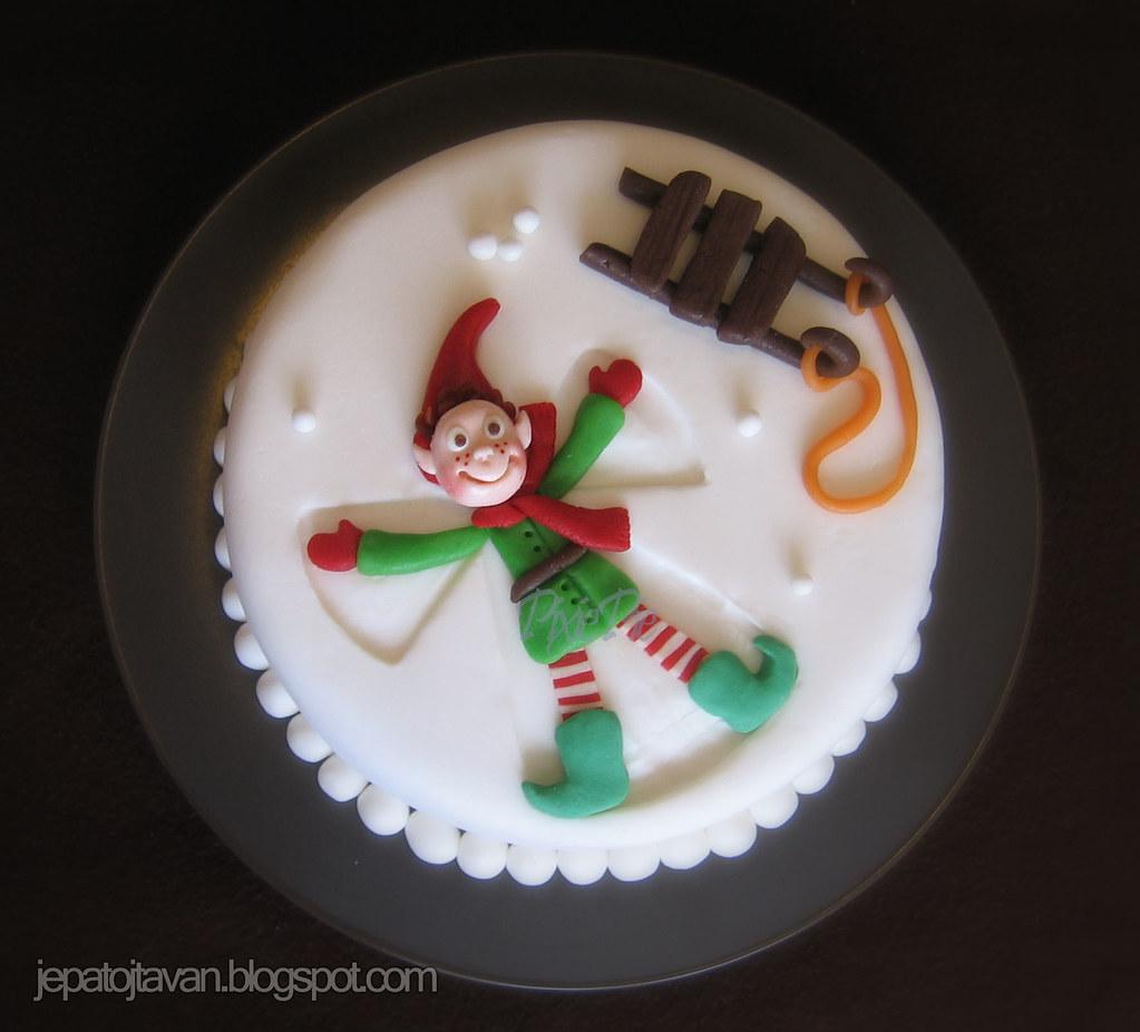 Snowangel Cake Pixie Pie Flickr
