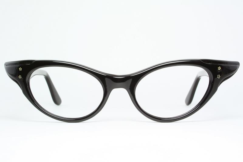 da4d5592f258 ... Winged Cat Eye Glasses by SRO | by Vintage Cat Eye Glasses