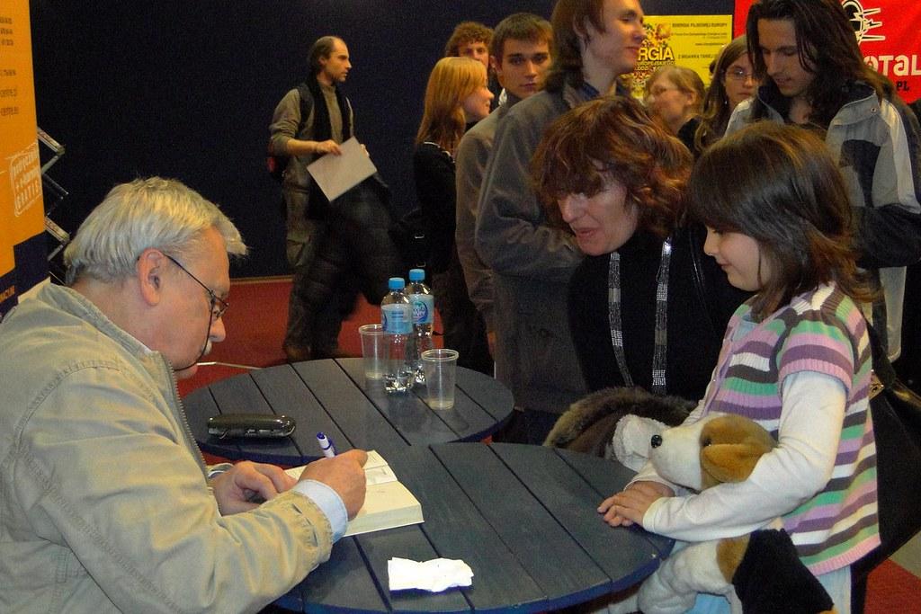 Patronujemy: Spotkanie z Andrzejem Sapkowskim