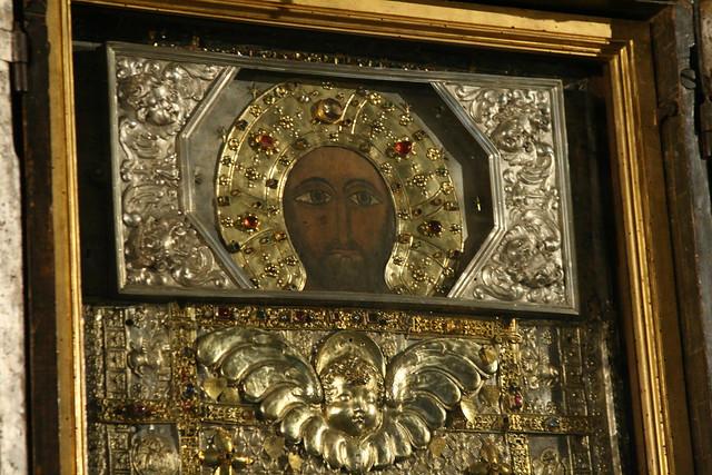 Icon at Rome's Sancta Sanctorum