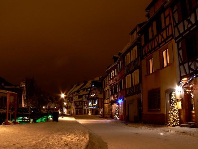 Colmar sous la neige... by night  (4)
