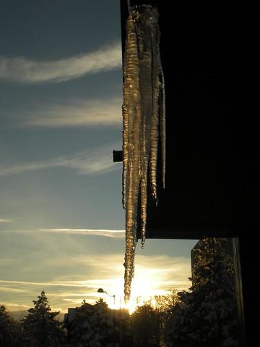 sunset italy ice water twilight italia tramonto neve lazio terminillo rieti ghiacciolo digitalcameraclub