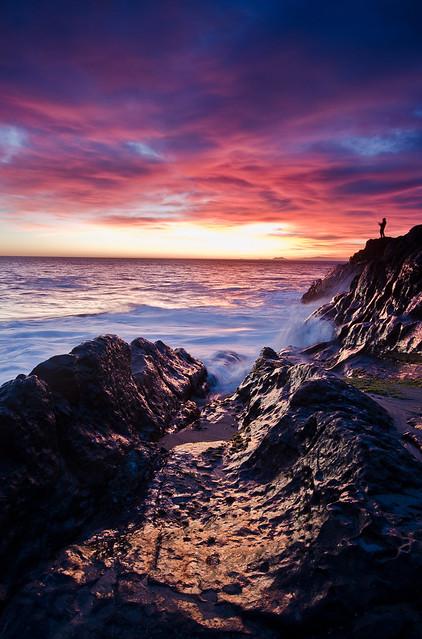 Mugu Rock Sunset