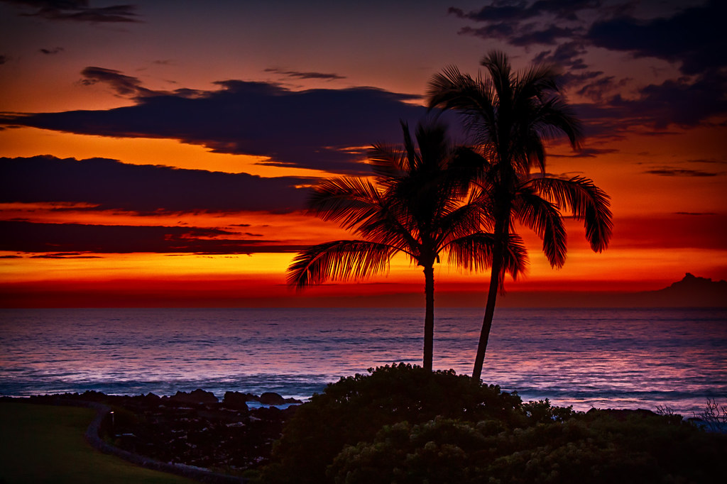 Hawaii Sunset | Only got to see one sunset on my short visit… | Flickr