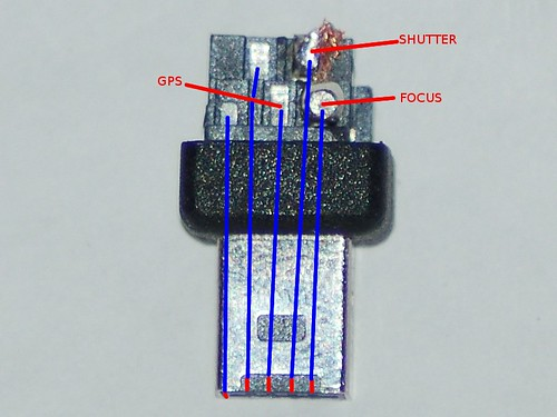 Nikon D90 10 Pin Connector Pinout (Top) | by Daniel J. Grinkevich