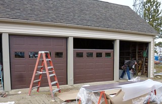 New garage doors | by Forest Service - Northern Region