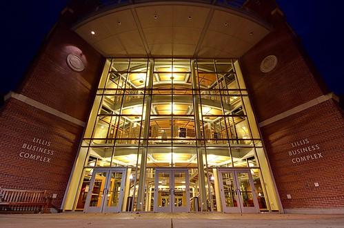 Lillis Business Complex | by Joe Parks