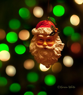 santa & light bokeh | by sure2talk