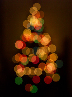 bokeh christmas tree | by dannynorodo
