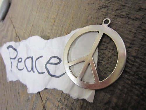All we are saying is give peace a chance.  John Lennon | by katerha