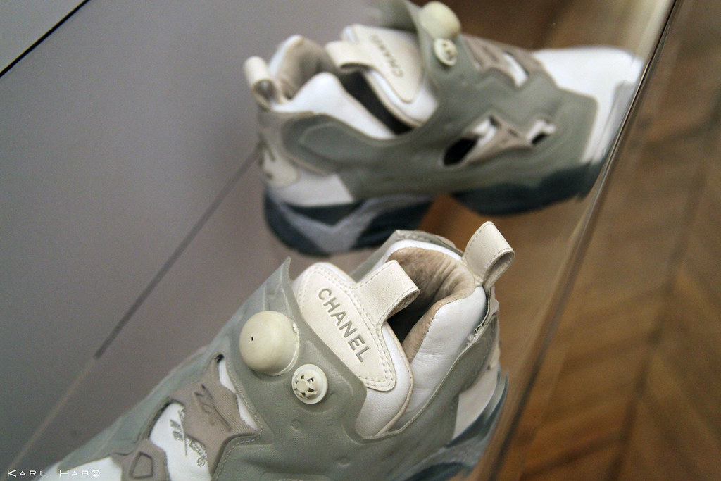 11bd8b08 Reebok Pump Fury Chanel (1997) | Karl Hab | Flickr