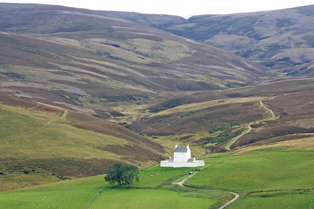 Vista castillo Corgarff