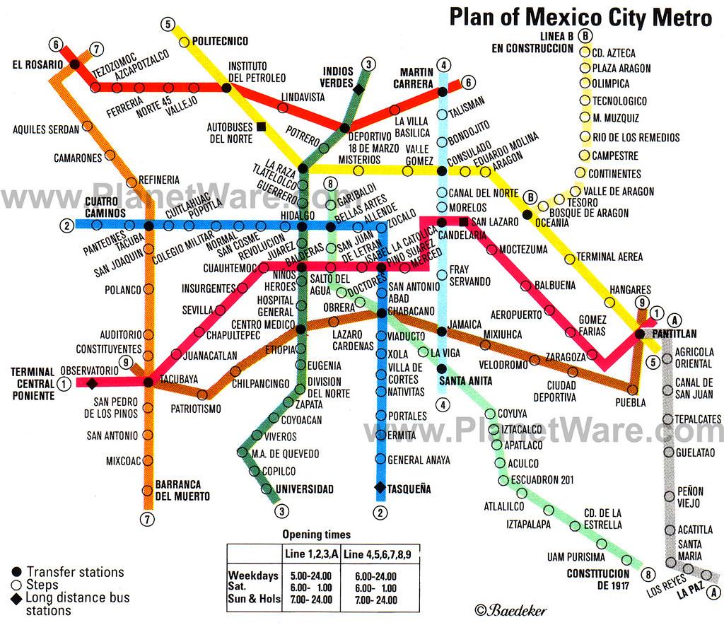 Mexco City Subway Map.Mexico City Metro Map Ali Adey Flickr