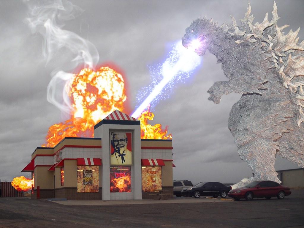 Album - Awesome - Store - KFC & Godzilla | Jeremy Begay | Flickr