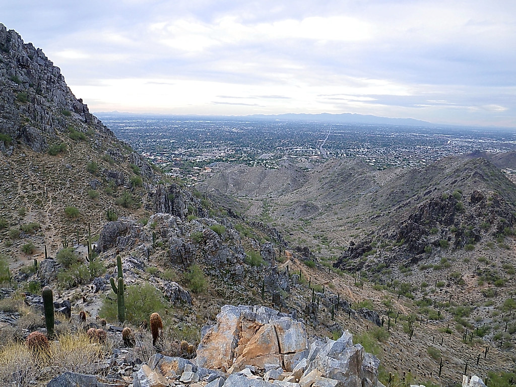 View to southwest - Phoenix Mountains Preserve | This is the… | Flickr
