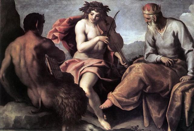+1610 Apolo y Marsias