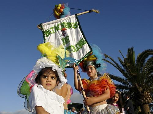 Francisco Navarro Herrera niñas Carnaval Playa Blanca. Lanzarote 2007