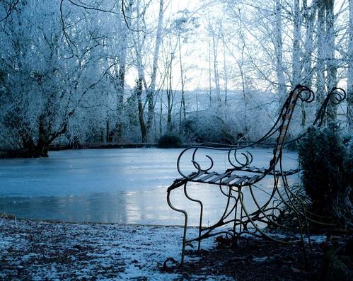 Frozen Lake | by CarolAnneS