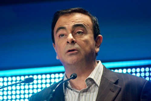 Carlos Ghosn, Chairman & CEO, Renault S.A. & Nissan Motor Co | by Adam Tinworth