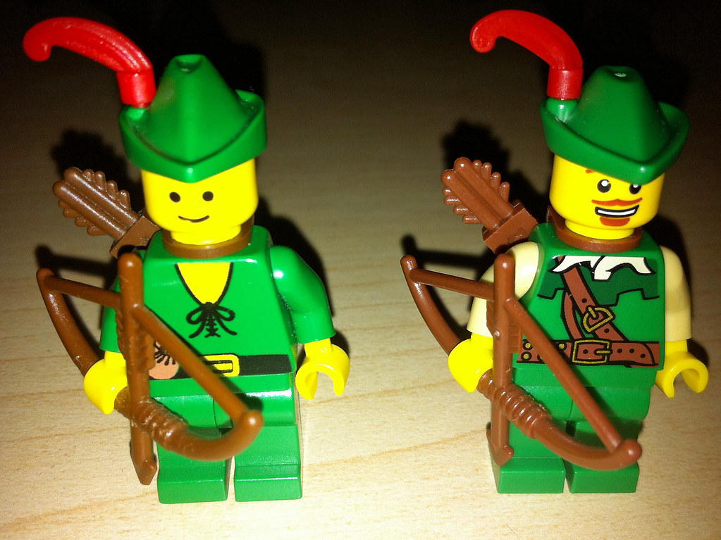 Lego Collectible Minifigures Series 1 Forestmen Vs Castle Flickr
