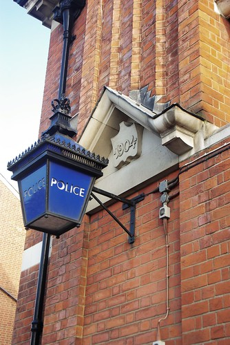 Lamp, Muswell Hill Police Station
