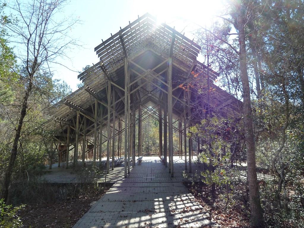 Crosby Arboretum, Pinecote Pavilion