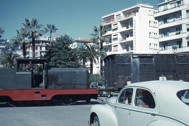 JHM-1963-0019 - Nice, Chemin de Fer de Provence, de la gare CP à la gare SNCF
