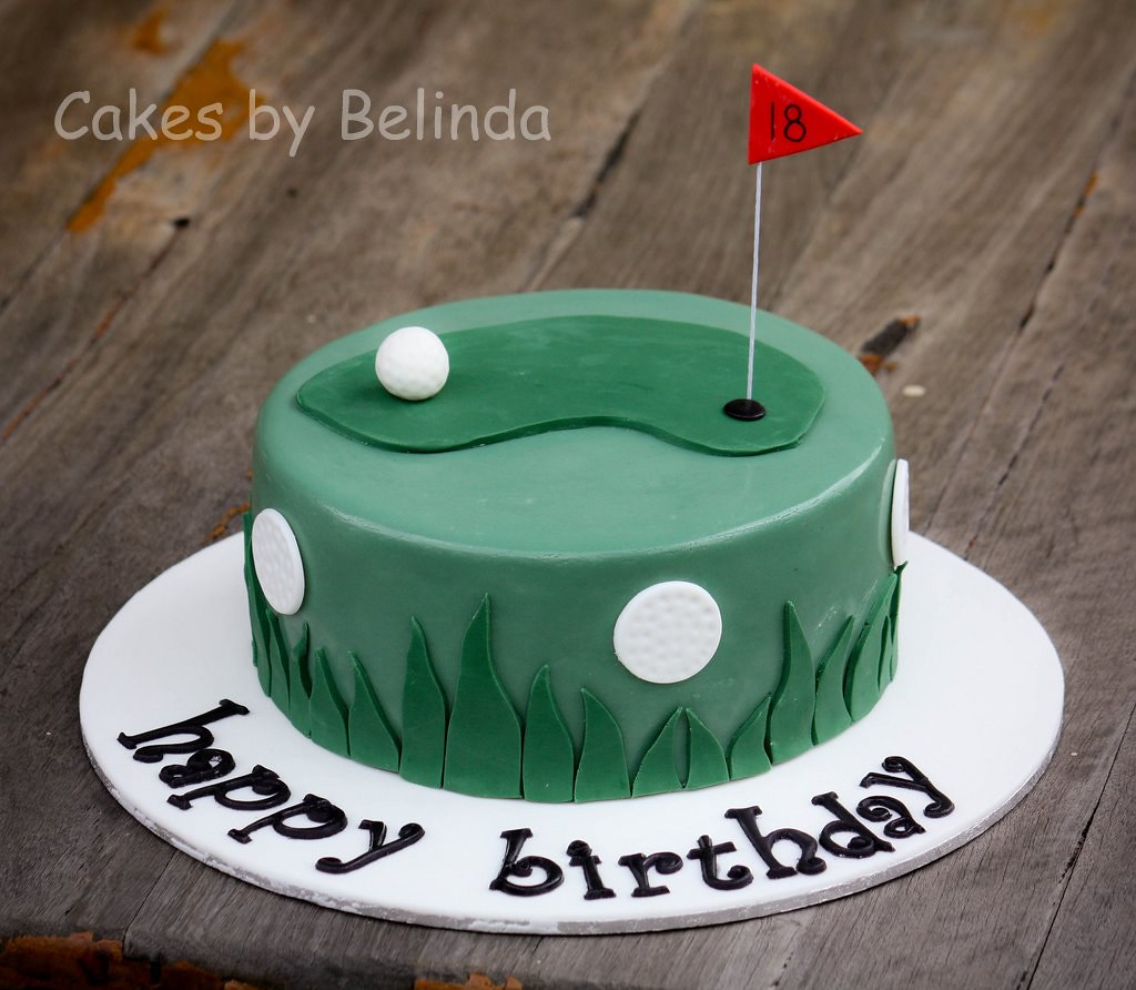 Amazing Golf Birthday Cake Humidity Was Not On My Side With This Flickr Funny Birthday Cards Online Alyptdamsfinfo
