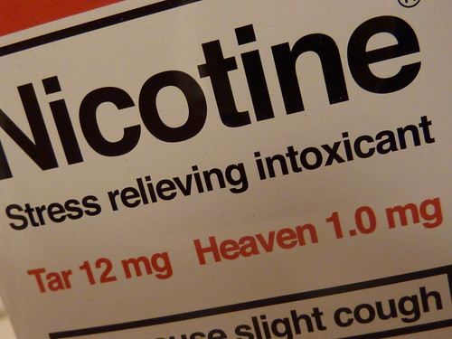 Nicotine: stress relieving intoxicant | by lydia_shiningbrightly
