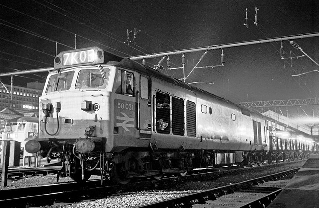 A night at Crewe, 1975; 50031