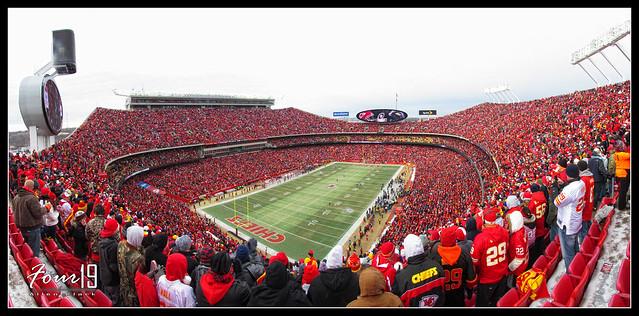 Arrowhead Stadium - Kansas City Chiefs Playoff Game
