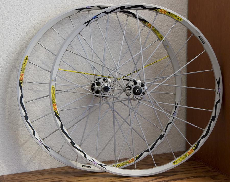 Mavic Crossmax SL QR Wheelset UST Tubeless 02