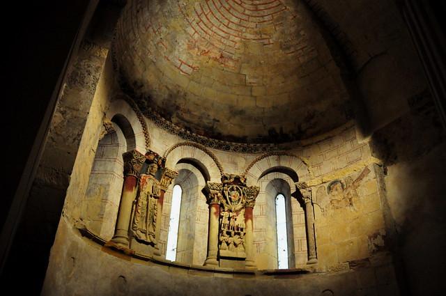 110 - Abside Interior - Iglesia Santiago - Turégano (Segovia) - Spain