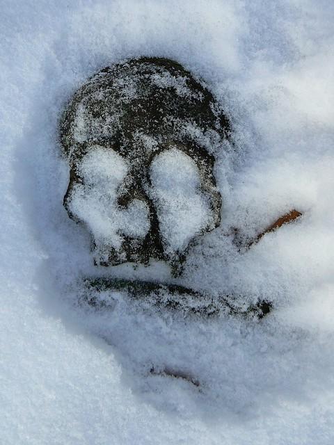 Le clin d'oeil d'une pierre tombale - The wink of a gravestone (2)