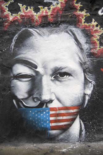 Julian Assange Wikileaks named Man of the Year by Le Monde | by Abode of Chaos