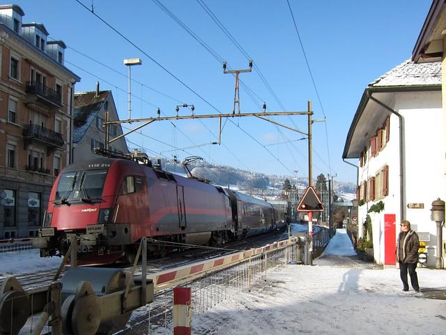 ÖBB railjet in Horgen (Switzerland)