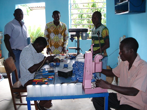 Togovisite 2010 Projekt Solarlampen | by togoprojekt