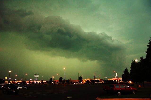 072406 - Nebraska Shelf Cloud!