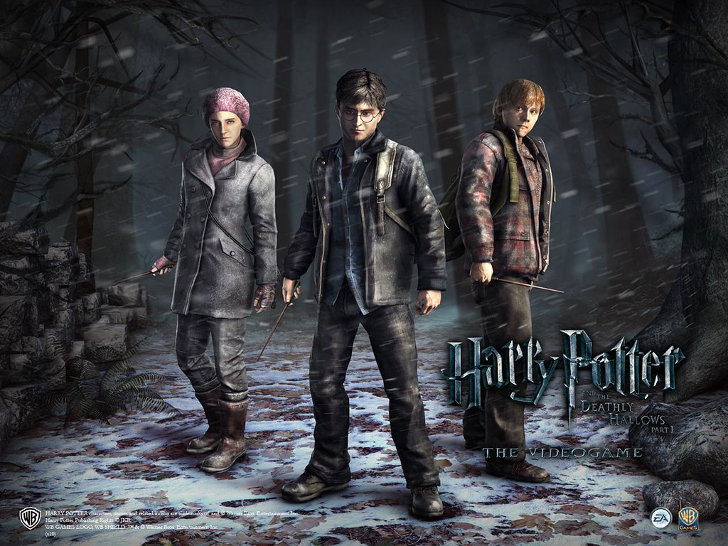 Harry Potter And The Deathly Hallows Game Wallpaper Flickr