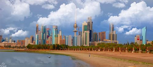 Kuwait Skyline | by dal_dm