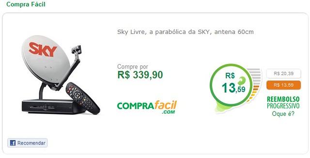 Sky Livre, a parabólica da SKY, antena 60cm   1° Lugar: Sky …   Flickr