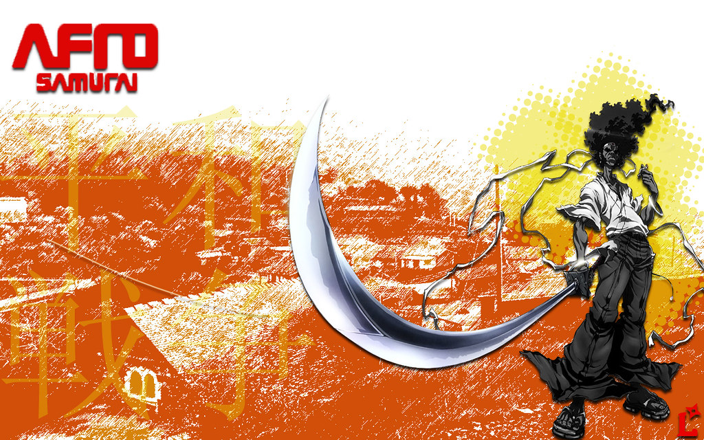 Afro Samurai Wallpaper I Love Doing Anime Pieces I Know Y
