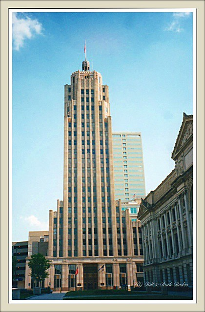 Fort Wayne IN ~  Lincoln Bank Tower ~ Deco