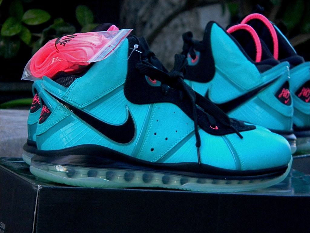 best service 2ea54 f6d7c ... nike air max lebron 8 (South beach)   by jtay1739