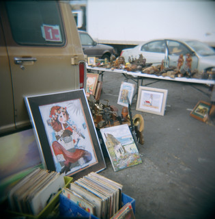 Holga returns to Kobey's Swap Meet for color photography