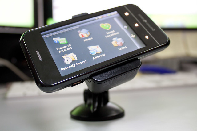 Garmin-Asus A10 GPS Android smartphone review