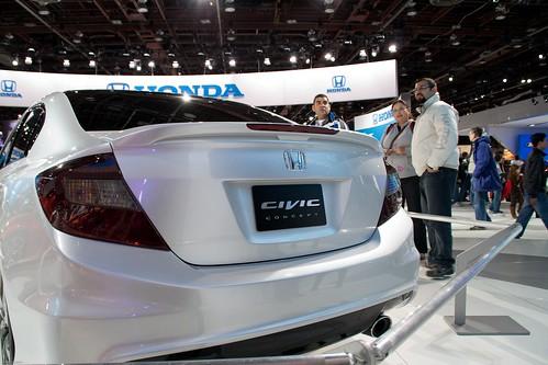 2012 Honda Civic Sedan ConceptNAIAS 2011 - Detroit, Michigan-125 Photo