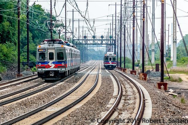 SEPTA train 9294 2015-07-02