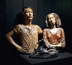 Lluch, Julie, Philippine Gothic, 1984, ceramic, 1.5' x 2.5'