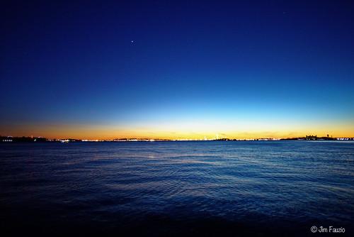 twlight blue hour